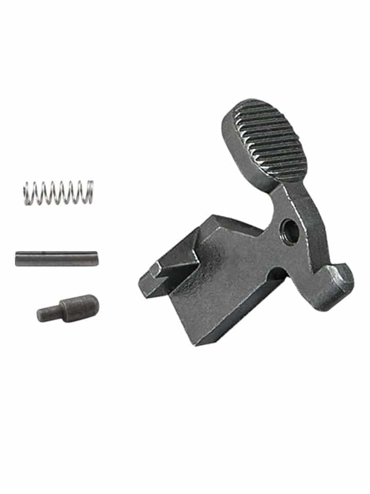 Bolt Catch W Spring Buffer Pin Luth Ar